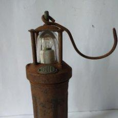 Antigüedades: ANTIGUA LAMPARA DE MINA NIFE, 1914. Lote 229195340