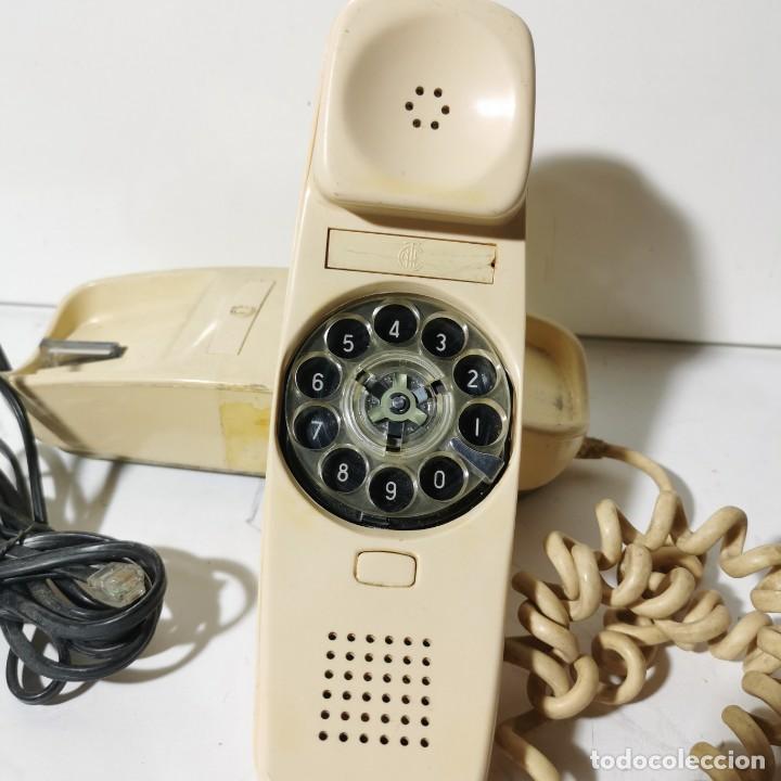 Teléfonos: ANTIGUO TELEFONO GÓNDOLA - CITESA - MALAGA - BLANCO - ADAPTADO A LA NUEVA CONEXIÓN - NUNCA PROBADO - Foto 2 - 229218775