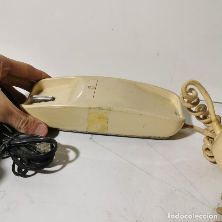 Teléfonos: ANTIGUO TELEFONO GÓNDOLA - CITESA - MALAGA - BLANCO - ADAPTADO A LA NUEVA CONEXIÓN - NUNCA PROBADO - Foto 4 - 229218775