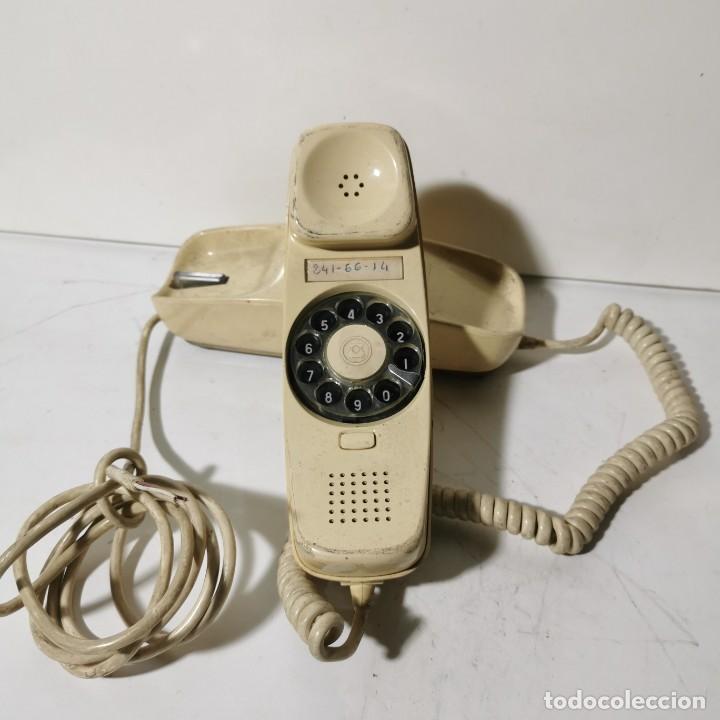 ANTIGUO TELEFONO GÓNDOLA - CITESA - MALAGA - BLANCO - CNTE - TELEFONICA - NUNCA PROBADO (Antigüedades - Técnicas - Teléfonos Antiguos)