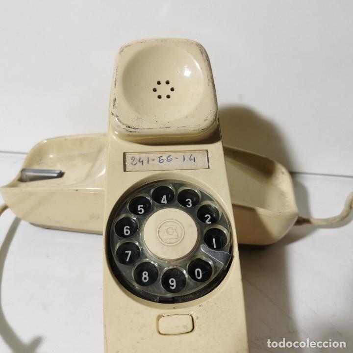 Teléfonos: ANTIGUO TELEFONO GÓNDOLA - CITESA - MALAGA - BLANCO - CNTE - TELEFONICA - NUNCA PROBADO - Foto 2 - 229218945