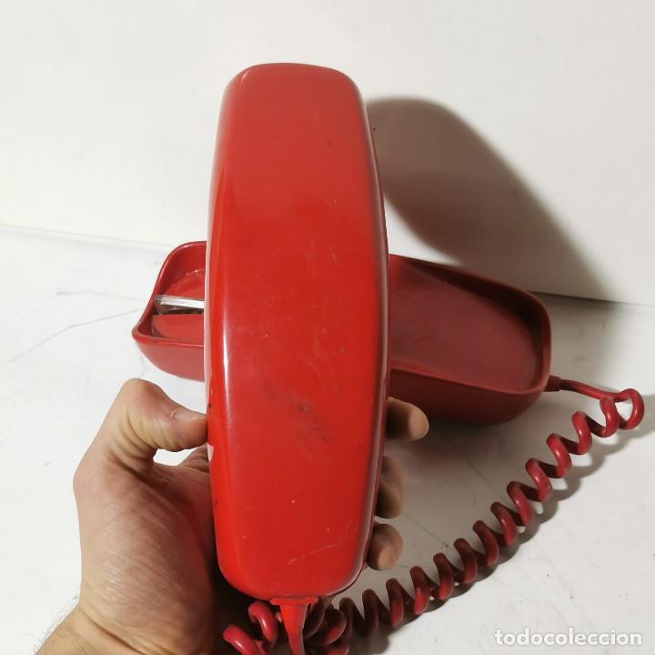 Teléfonos: ANTIGUO TELEFONO GÓNDOLA - CITESA - MALAGA - ROJO - CNTE - TELEFONICA - NUNCA PROBADO - Foto 3 - 229219200