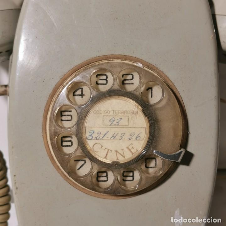 Teléfonos: TELEFONO ANTIGUO VINTAGE DE PARED - GRIS - CNTE - TELEFONICA - NUNCA PROBADO - Foto 2 - 229220030