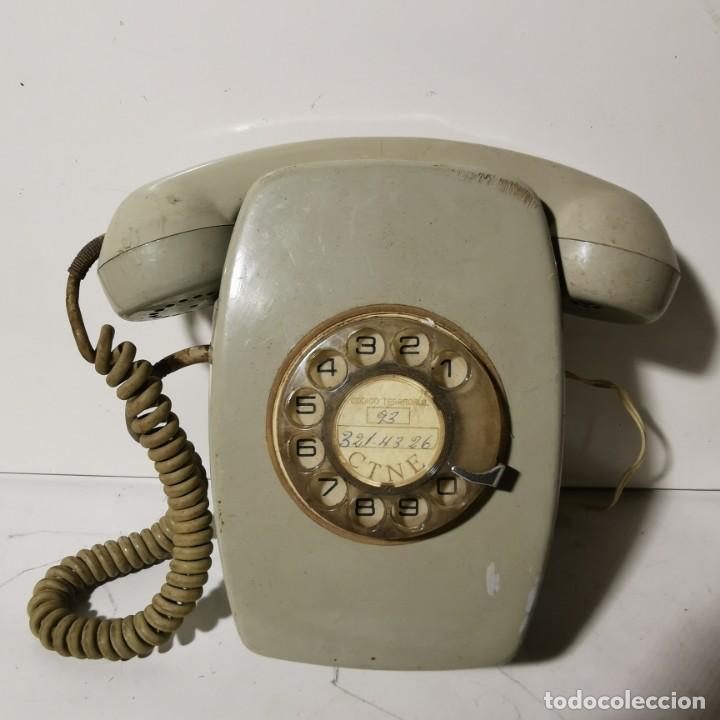 Teléfonos: TELEFONO ANTIGUO VINTAGE DE PARED - GRIS - CNTE - TELEFONICA - NUNCA PROBADO - Foto 3 - 229220030