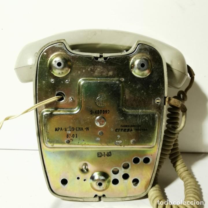 Teléfonos: TELEFONO ANTIGUO VINTAGE DE PARED - GRIS - CNTE - TELEFONICA - NUNCA PROBADO - Foto 5 - 229220030