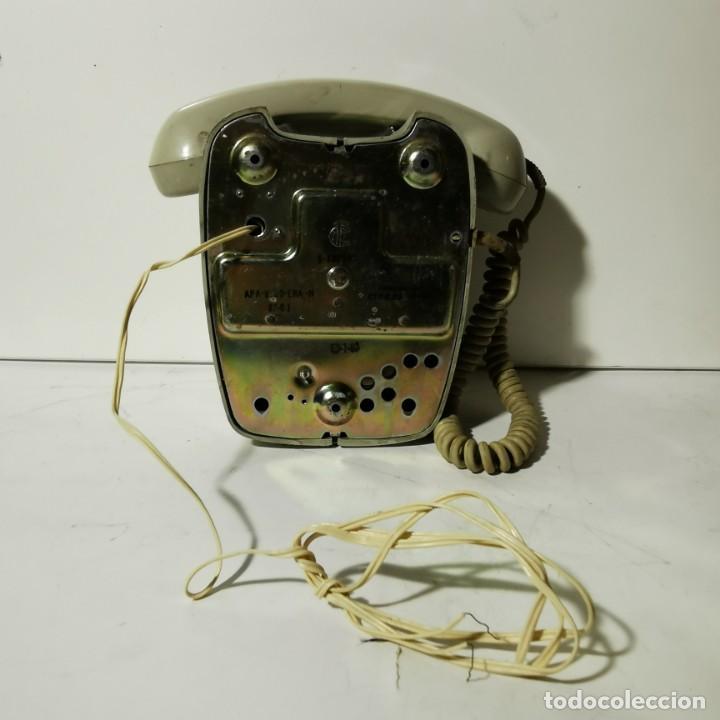 Teléfonos: TELEFONO ANTIGUO VINTAGE DE PARED - GRIS - CNTE - TELEFONICA - NUNCA PROBADO - Foto 6 - 229220030