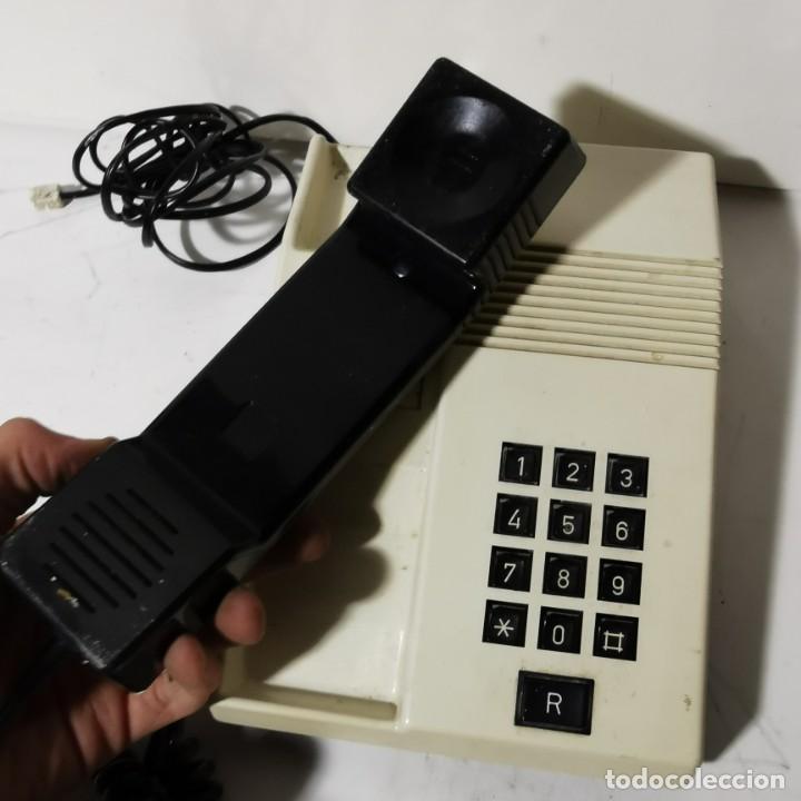Teléfonos: TELEFONO ANTIGUO VINTAGE DE SOBREMESA TEIDE - TELEFONICA - ALCATEL - BLANCO - CNTE - NUNCA PROBADO - Foto 2 - 229221085