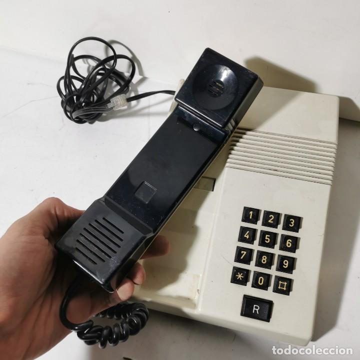 Teléfonos: TELEFONO ANTIGUO VINTAGE DE SOBREMESA TEIDE - TELEFONICA - AMPER - BLANCO - CNTE - NUNCA PROBADO - Foto 2 - 229221215