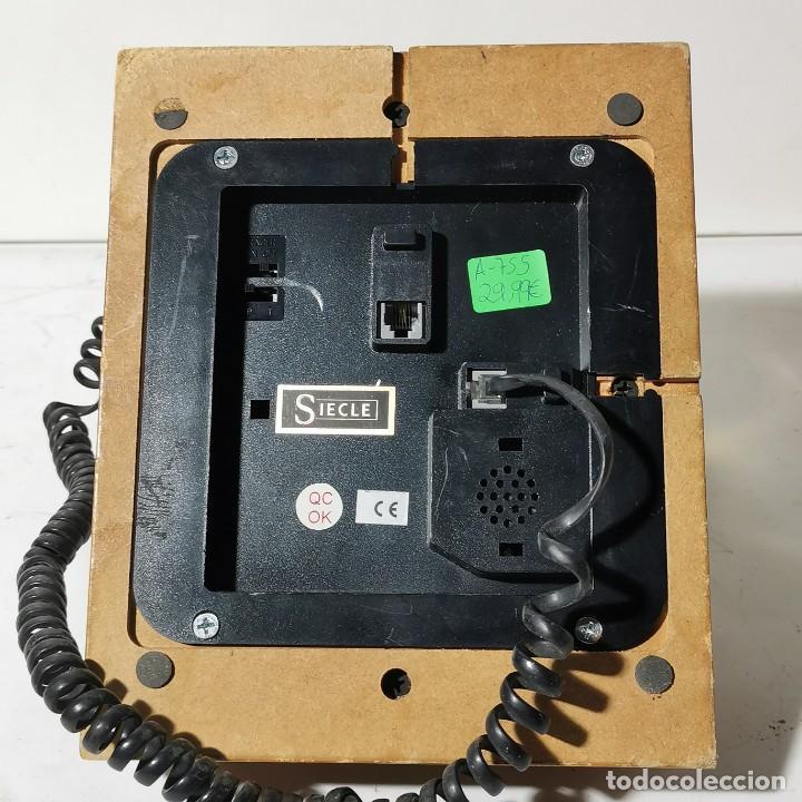 Teléfonos: TELEFONO ANTIGUO VINTAGE DE SOBREMESA - REPRODUCCIÓN - ADAPTADO A LA CONEXIÓN ACTUAL - FUNCIONANDO - Foto 9 - 229221820