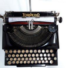 Antigüedades: ANTIGUA MAQUINA DE ESCRIBIR, TYPEWRITER TORPEDO. Lote 229395020