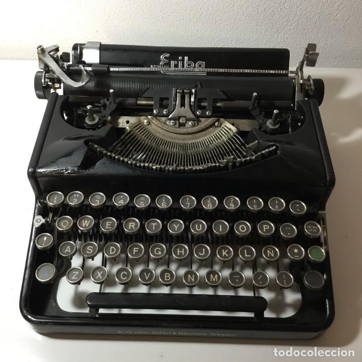 ERIKA A-G VORM.SEIDEL & NAUMANN - DRESDEN MÁQUINA DE ESCRIBIR (Antigüedades - Técnicas - Máquinas de Escribir Antiguas - Erika)