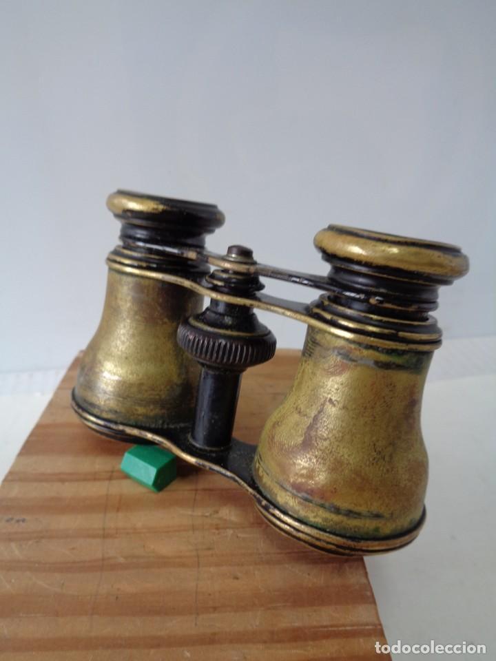 Antigüedades: ¡¡ PRISMATICOS - BINOCULARES.TEATRO - OPERA. GLASSES OPTICIEN. IMPERTINENTES. !! - Foto 5 - 229500665