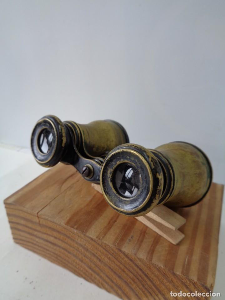Antigüedades: ¡¡ PRISMATICOS - BINOCULARES.TEATRO - OPERA. GLASSES OPTICIEN. IMPERTINENTES. !! - Foto 6 - 229500665