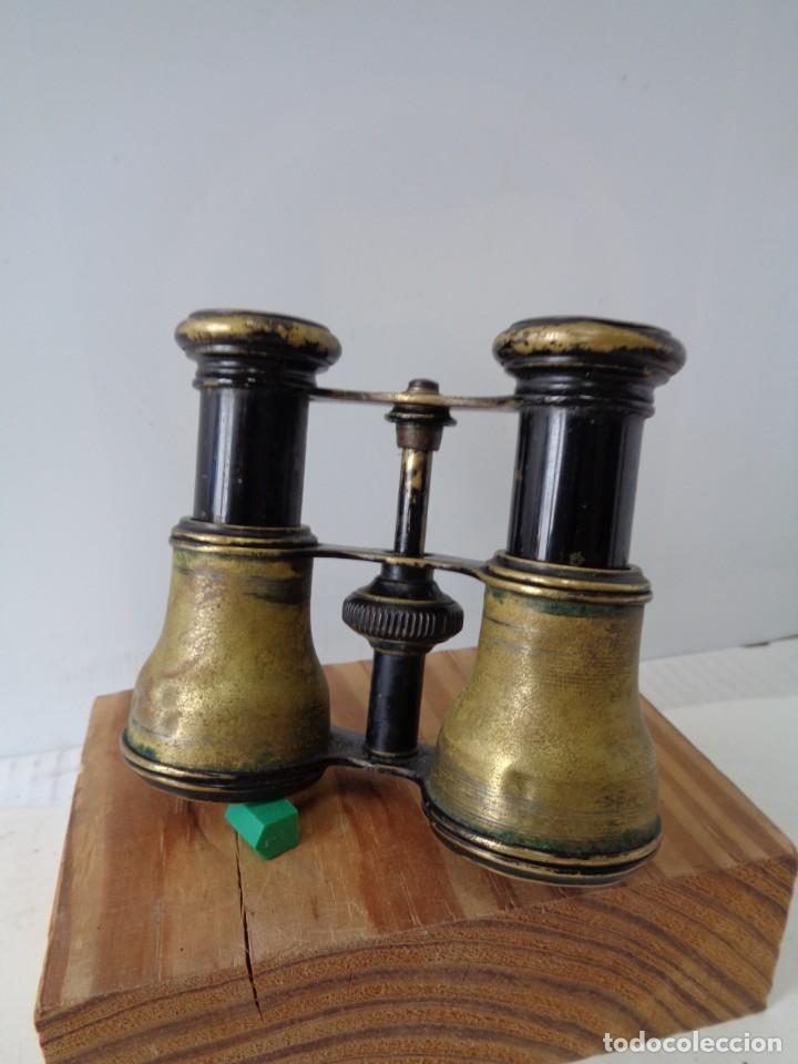 Antigüedades: ¡¡ PRISMATICOS - BINOCULARES.TEATRO - OPERA. GLASSES OPTICIEN. IMPERTINENTES. !! - Foto 7 - 229500665