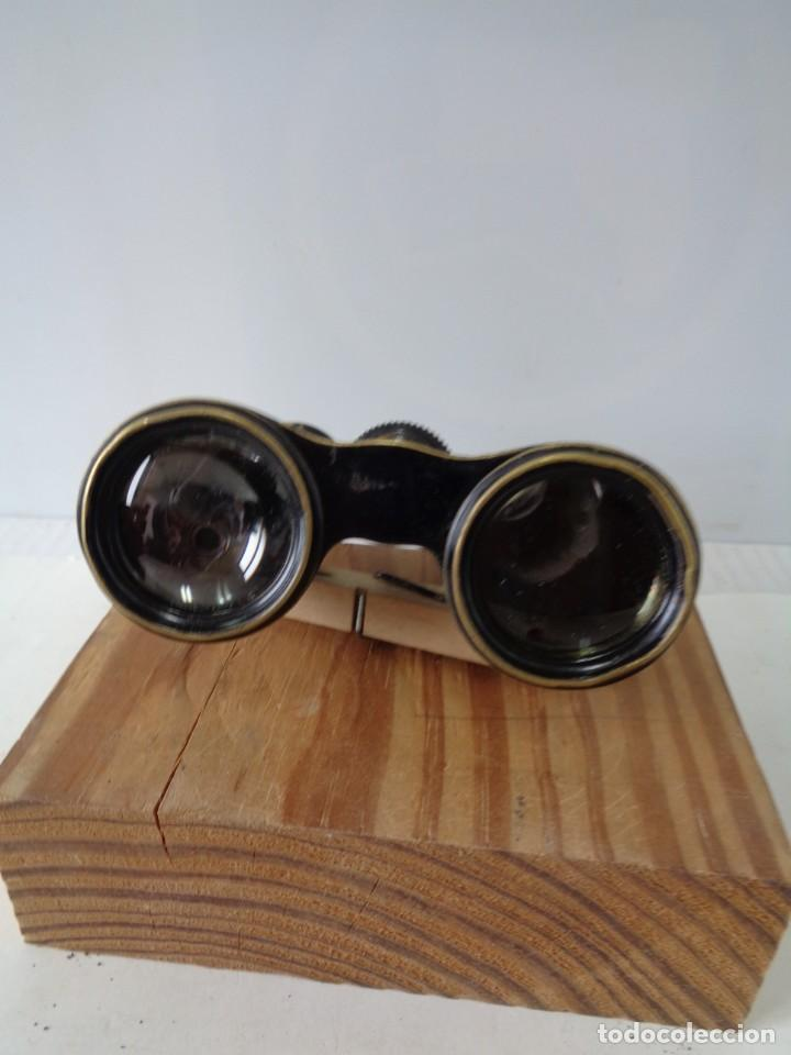 Antigüedades: ¡¡ PRISMATICOS - BINOCULARES.TEATRO - OPERA. GLASSES OPTICIEN. IMPERTINENTES. !! - Foto 9 - 229500665