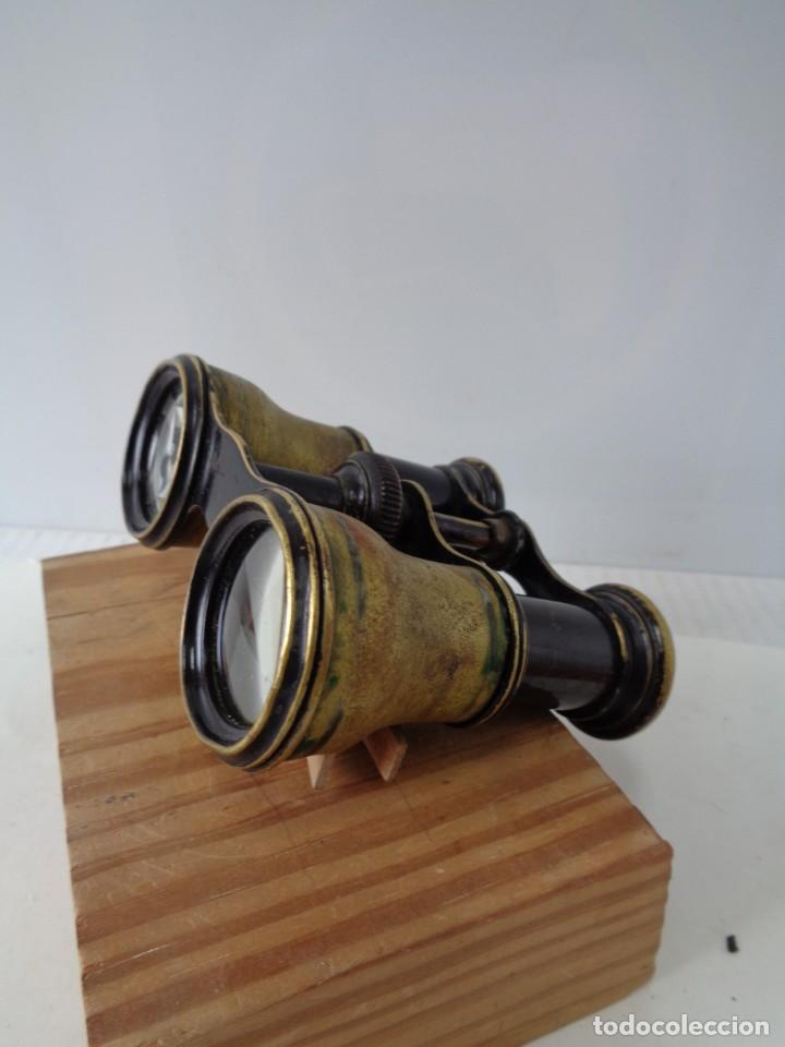 Antigüedades: ¡¡ PRISMATICOS - BINOCULARES.TEATRO - OPERA. GLASSES OPTICIEN. IMPERTINENTES. !! - Foto 10 - 229500665