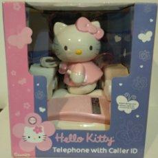 Teléfonos: ANTIGUO TELÉFONO DE SOBREMESA - HELLO KITTY - VER TODAS LAS FOTOS. Lote 229555635