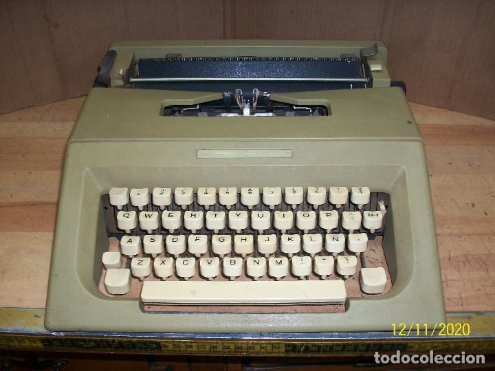 ANTIGUA MAQUINA DE ESCRIBIR-FUNCIONA (Antigüedades - Técnicas - Máquinas de Escribir Antiguas - Otras)