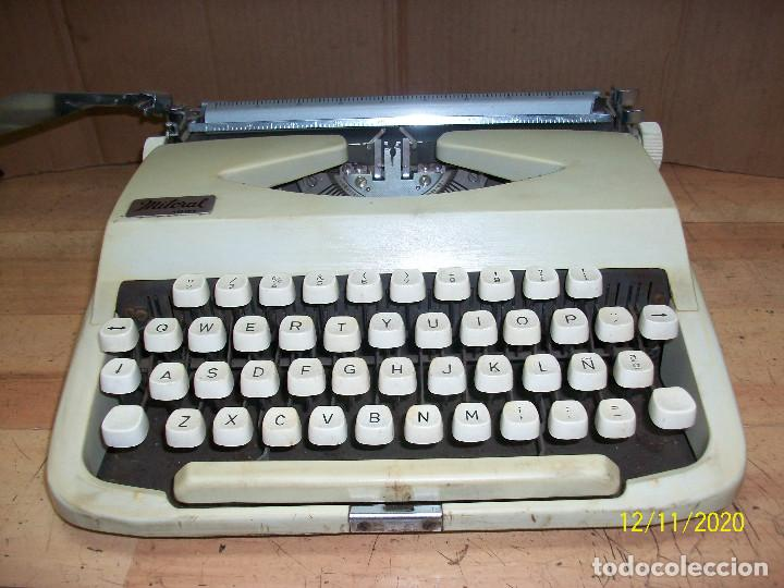 ANTIGUA MAQUINA DE ESCRIBIR -MITORAL 1001- INDUSTRIA PORTUGUESA (Antigüedades - Técnicas - Máquinas de Escribir Antiguas - Otras)