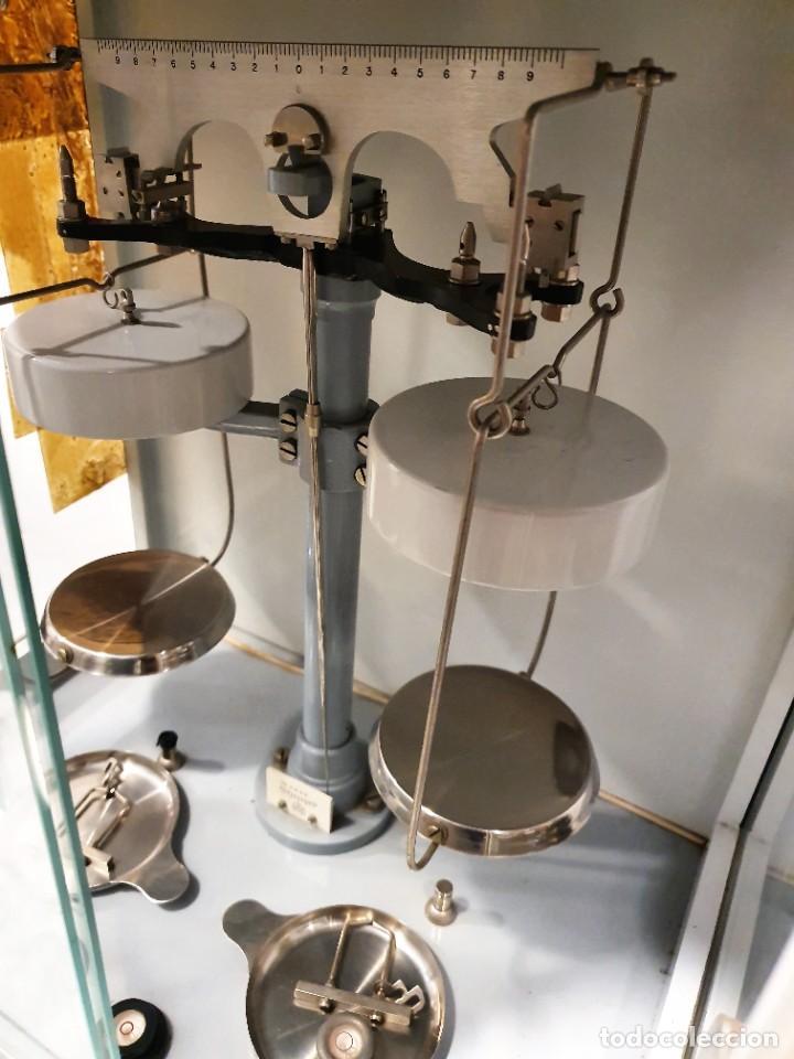 BALANZA DE PRECISION (Antigüedades - Técnicas - Medidas de Peso - Balanzas Antiguas)