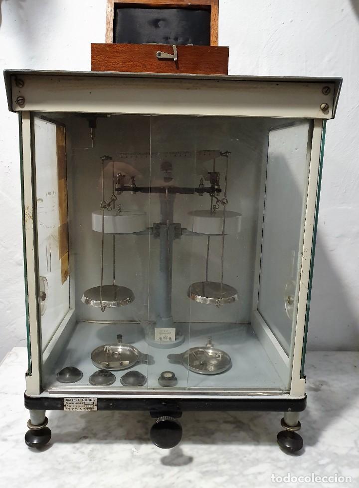Antigüedades: BALANZA DE PRECISION - Foto 2 - 229646620