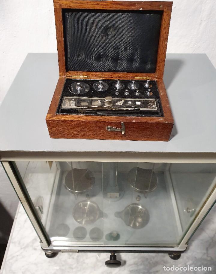 Antigüedades: BALANZA DE PRECISION - Foto 3 - 229646620
