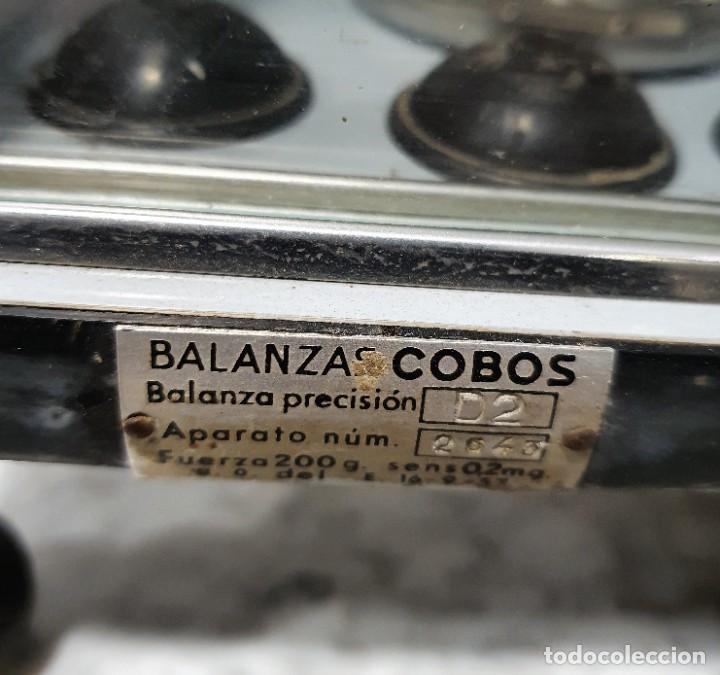 Antigüedades: BALANZA DE PRECISION - Foto 5 - 229646620