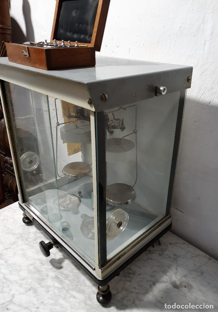 Antigüedades: BALANZA DE PRECISION - Foto 6 - 229646620