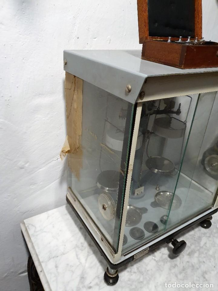 Antigüedades: BALANZA DE PRECISION - Foto 7 - 229646620