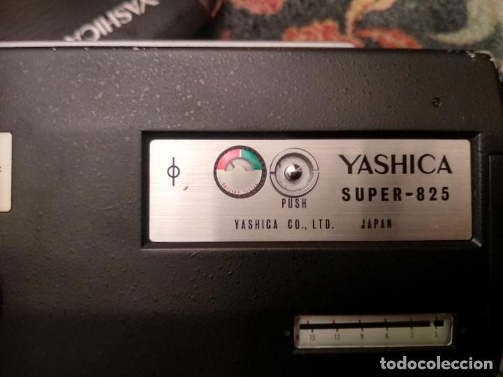 Antigüedades: TOMAVISTAS YASHICA SUPER 825 CON SU ESTUCHE ORIGINAL - MADE IN JAPAN - Foto 6 - 229740385