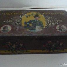 Antigüedades: CAJA UTENSILIOS WERTHEIM VACIA. Lote 229825685