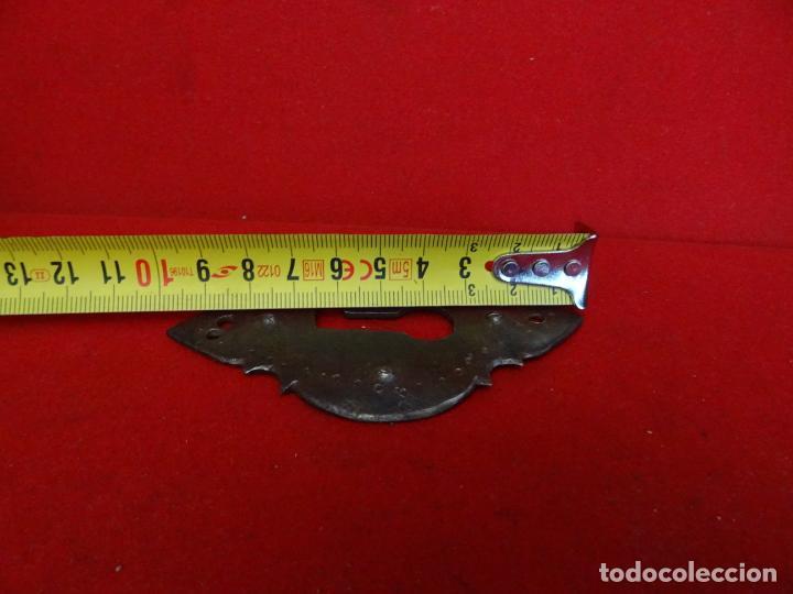 Antigüedades: bocallave hierro forja - Foto 3 - 229960230