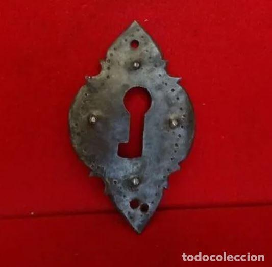 BOCALLAVE HIERRO FORJA (Antigüedades - Técnicas - Cerrajería y Forja - Varios Cerrajería y Forja Antigua)