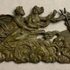 Antigüedades: RARO HERRAJE DE CIBELES Y NEPTUNO (S.XIX). Lote 230055125