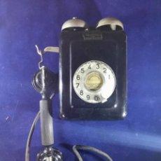 Teléfonos: ANTIGUO TELÉFONO METÁLICO DE PARED, 5509B, DE STANDARD ELÉCTRICA, PARA LA CTNE. Lote 230074620