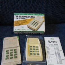 Antigüedades: EL BANCO EN CASA (BANCO DE SANTANDER). Lote 230112380
