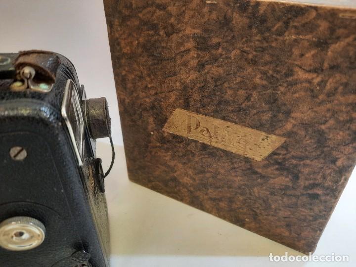 Antigüedades: Tomavistas Pathé, películas, caja e instrucciones. Impecable. - Foto 4 - 230199710