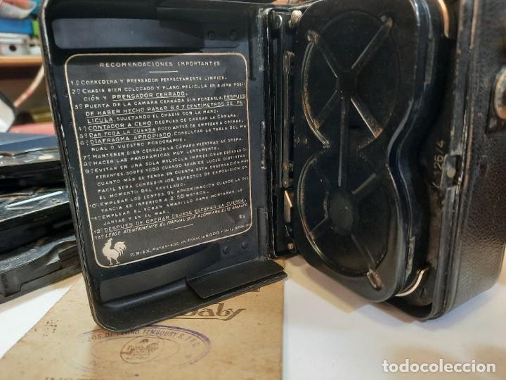 Antigüedades: Tomavistas Pathé, películas, caja e instrucciones. Impecable. - Foto 11 - 230199710
