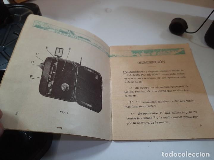 Antigüedades: Tomavistas Pathé, películas, caja e instrucciones. Impecable. - Foto 12 - 230199710
