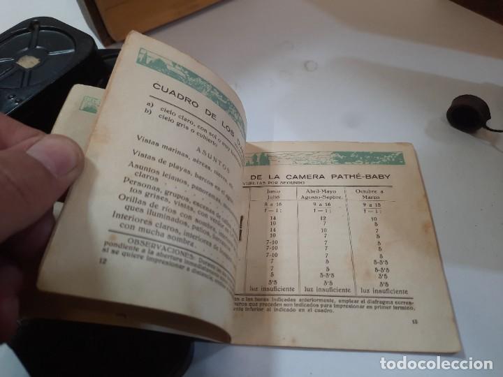 Antigüedades: Tomavistas Pathé, películas, caja e instrucciones. Impecable. - Foto 14 - 230199710