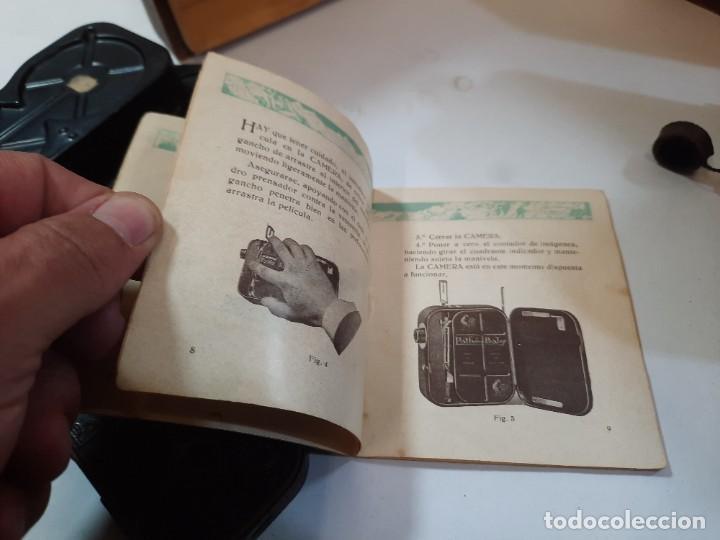 Antigüedades: Tomavistas Pathé, películas, caja e instrucciones. Impecable. - Foto 15 - 230199710