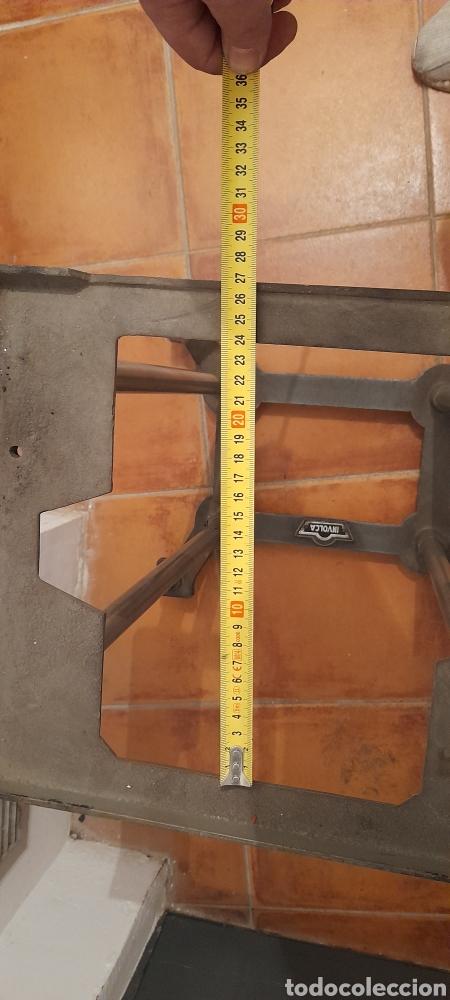 Antigüedades: Suporte o pie maquina escribir INVOLCA - Foto 12 - 230241975