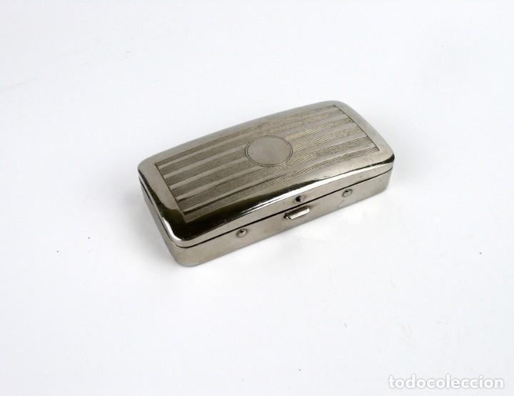 Antigüedades: Oxford, Made in England-Maquinilla de afeitar en estuche - metal cromado -Primera mitad siglo 20 - Foto 3 - 230279525