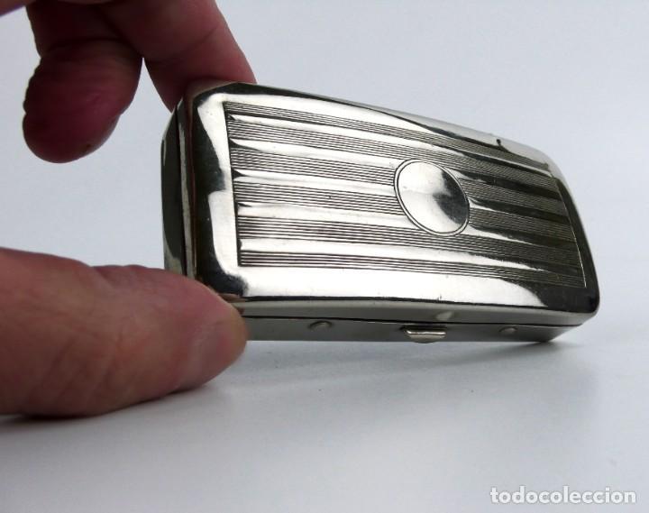 Antigüedades: Oxford, Made in England-Maquinilla de afeitar en estuche - metal cromado -Primera mitad siglo 20 - Foto 4 - 230279525