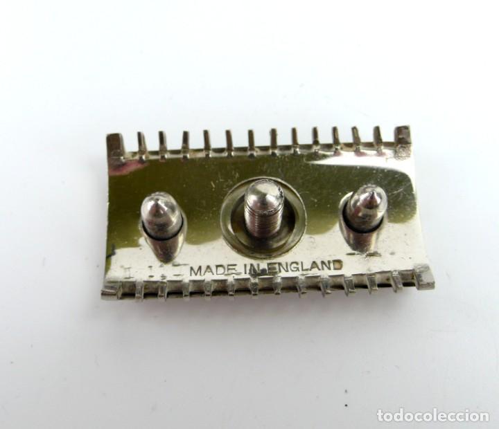 Antigüedades: Oxford, Made in England-Maquinilla de afeitar en estuche - metal cromado -Primera mitad siglo 20 - Foto 6 - 230279525