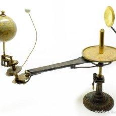 Antigüedades: 1880CA - ¡ DE MUSEO ! - PLANETARIO TELURIO LUNARIUM TELLURION ORRERY SCHOTTE. Lote 230318690