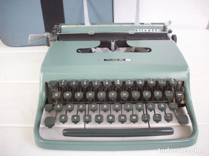MAQUINA DE ESCRIBIR OLIVETTI PLUMA 22 . (Antigüedades - Técnicas - Máquinas de Escribir Antiguas - Olivetti)