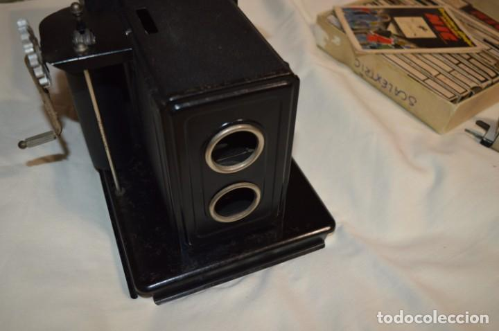 Antigüedades: Cine NIC / Gran tamaño / Original, años 30/40 - Con instrucciones / Regalo películas - ¡Funcionando! - Foto 6 - 230439405