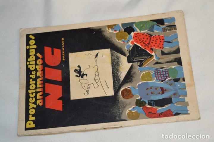 Antigüedades: Cine NIC / Gran tamaño / Original, años 30/40 - Con instrucciones / Regalo películas - ¡Funcionando! - Foto 13 - 230439405