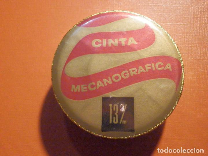 Antigüedades: Cinta mecanográfica para máquina de Escribir Hispano Olivetti - Negro fijo HO - 13 mm - Nueva - Foto 3 - 230482565
